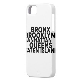 The Five Boroughs iPhone 5 Case