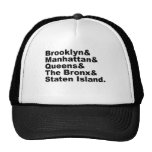 The Five Boroughs of New York City Trucker Hat