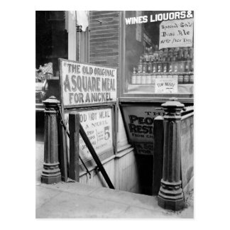 The Five Cent Restaurant, 1915 Postcard
