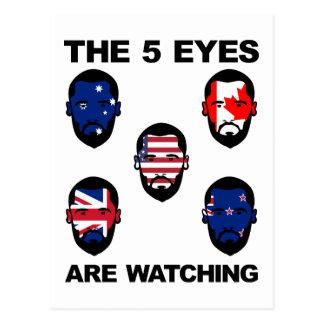 "The ""Five Eyes"" Postcard"