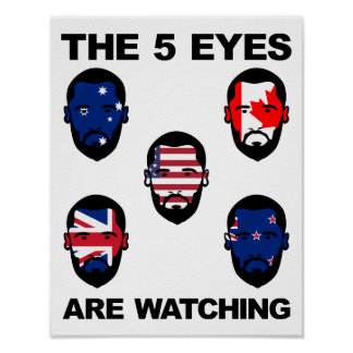 """The """"Five Eyes"""" Poster"""