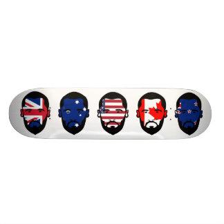 "The ""Five Eyes"" Skateboard Deck"