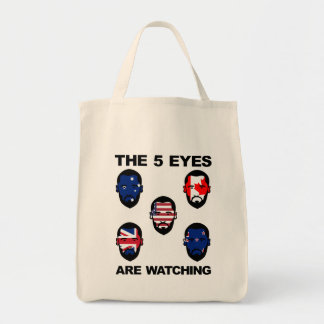 """The """"Five Eyes"""" Tote Bag"""