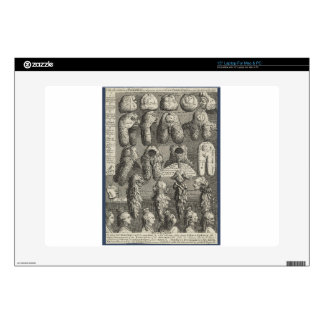 The Five Orders of Perriwigs by William Hogarth Decal For Laptop