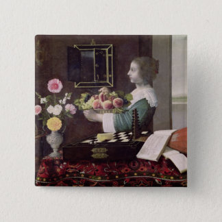 The Five Senses, or Summer, 1633 Pinback Button