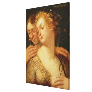 The Five Senses: Smell Canvas Print
