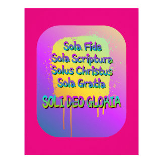 The Five Solas Letterhead