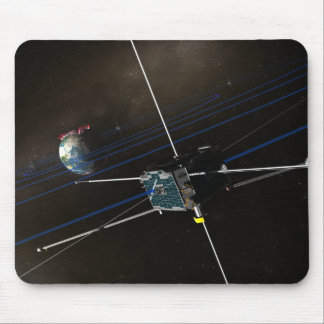 The five THEMIS spacecraft in orbit Mouse Pads