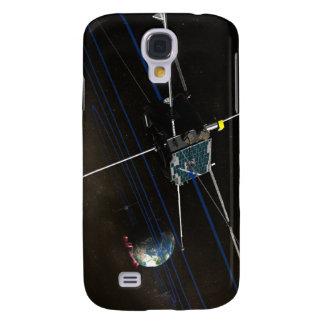 The five THEMIS spacecraft in orbit Samsung Galaxy S4 Case