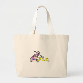 The Fix Logo Large Tote Bag