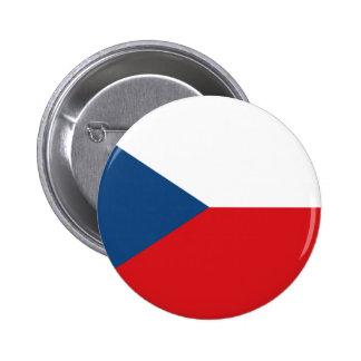 The Flag Czech Republic Pinback Button