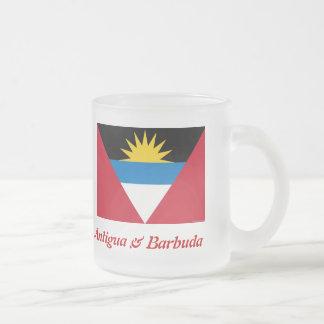 The Flag of Antigua & Barbuda Frosted Beer Mug