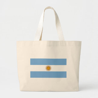 The Flag of Argentina Tote Bags