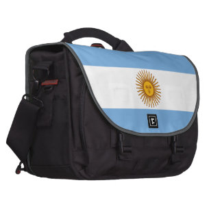 The Flag of Argentina Computer Bag