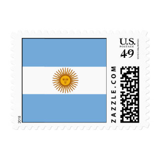 The Flag of Argentina Stamps