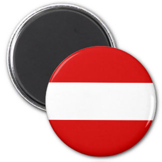The Flag of Austria Magnet