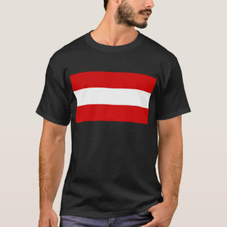 The Flag of Austria T-Shirt