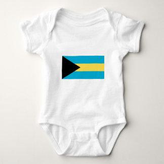 The Flag of Bahamas Baby Bodysuit