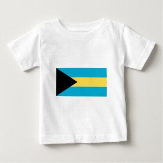 The Flag of Bahamas Baby T-Shirt