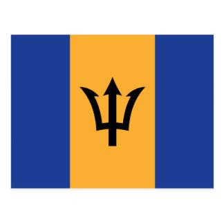 The Flag of Barbados Postcard