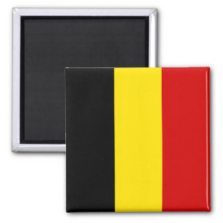 The Flag of Belgium Magnet