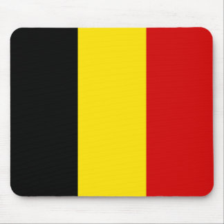 The Flag of Belgium Mouse Pad
