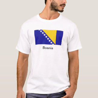 The flag of Bosnia and Herzegovina T-Shirt