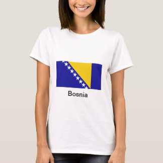 The flag of Bosnia and Herzegovina T-Shirt