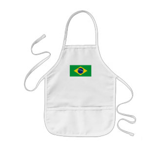 The Flag of Brazil Aprons
