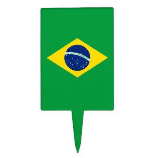 The Flag of Brazil Cake Topper