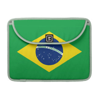 The Flag of Brazil Sleeve For MacBook Pro
