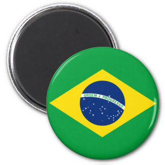The Flag of Brazil Magnets