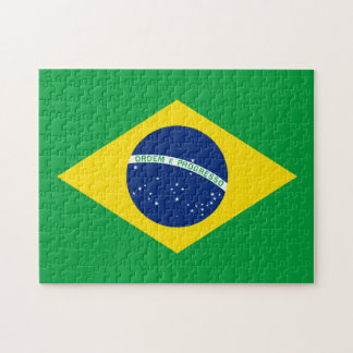 The Flag of Brazil Jigsaw Puzzle
