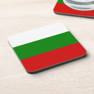 The Flag of Bulgaria Drink Coaster