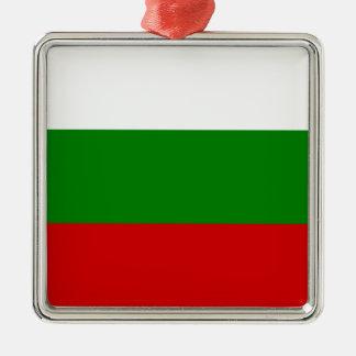 The Flag of Bulgaria Metal Ornament