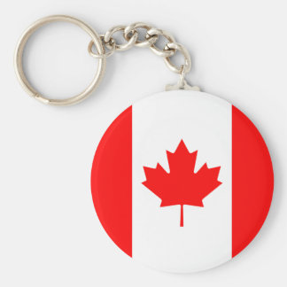 The Flag of Canada Canadian Nation Maple Leaf Flag Keychain