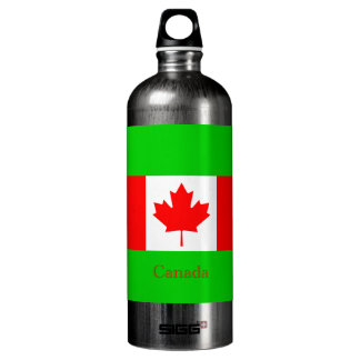 The Flag of Canada Water Bottle