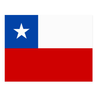 The Flag of Chile Postcard