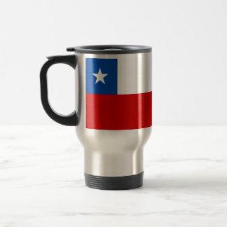 The Flag of Chile Travel Mug