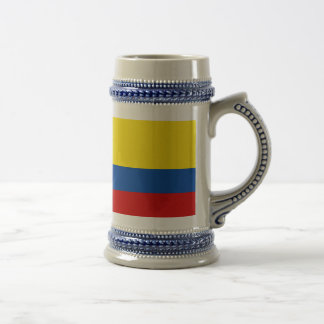 The Flag of Colombia Beer Stein