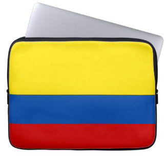 The Flag of Colombia Laptop Sleeve