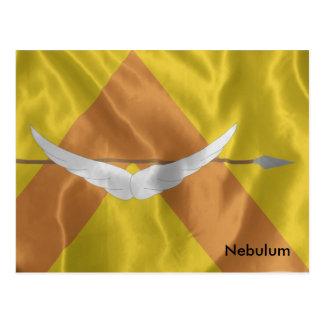The Flag of Commander Shedek Postcard