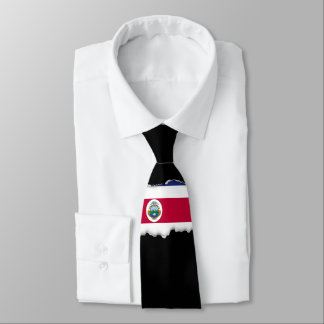 The Flag of Costa Rican Tie