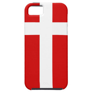 The Flag of Denmark iPhone SE/5/5s Case