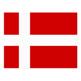The Flag of Denmark Postcard
