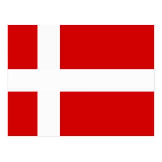 The Flag of Denmark Postcard