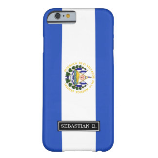 The flag of El Salvador Barely There iPhone 6 Case