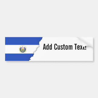 The flag of El Salvador Bumper Sticker