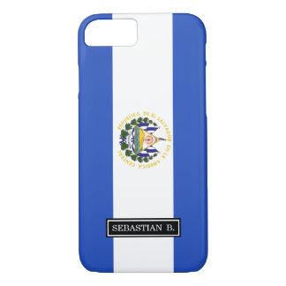 The flag of El Salvador iPhone 7 Case
