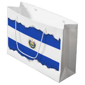 The flag of El Salvador Large Gift Bag